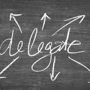 delegate authority